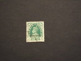 NABHA - 1938/9 RE 9 P.. - TIMBRATO/USED - Nabha