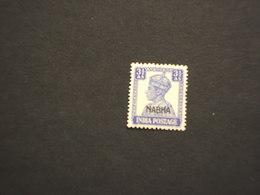 NABHA - 1942/5 RE 3 1/2 P.. - NUOVO(+) - Nabha