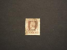 NABHA - SERVIZIO - 1942/4 RE  4 A.- TIMBRATO/USED - Nabha