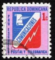 Dominican Republic Scott #RA78 Used - Dominicaanse Republiek