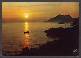 91675/ LUMIERE, Coucher De Soleil, Corse, Golfe De Porto - Contre La Lumière