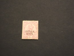PATIALA - 1913/27 RE  8 - TIMBRATO/USED - Patiala