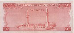 BAHRAIN P.  4a 1 D 1964 XF/AU - Bahrein