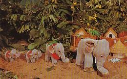 "Elephants ""Jumbo And His Family"" Steiff Zoo Favorites - Elephants"