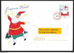 France, 2016, Entier Postal, Lettre Du Père-noël, Noël, Santa Claus Letter, - Christmas
