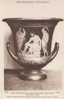 Ulysses Evoking Teresias Attic Vase Antique Roman Pottery Postcard - Antiquité