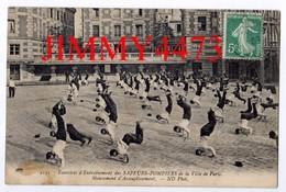 CPA - Mouvement D'Assouplissement En 1909 - SAPEURS POMPIERS De La Ville De Paris - N°2143 - ND Phot. - Sapeurs-Pompiers
