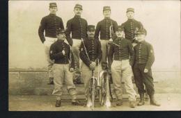 MILITARIA -8 Poilus Musiciens 146 ° Toul -Instruments Divers- Voyagée 1909-  Recto Verso- Paypal Sans Frais - Regimente