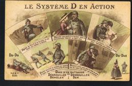 MILITARIA HUMORISTIQUE  -Le Système D En Action- Dans La Vie Faut Savoir Se Débrouiller .....  -Recto Verso - Humoristiques