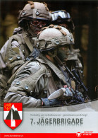 Broschüre 7. Jägerbrigade Kärnten Bundesheer Infanterie Klagenfurt Österreich Militär Heer Military Austria Autriche - Revistas & Periódicos