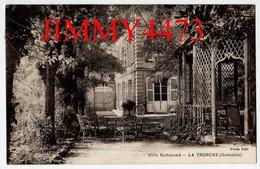 CPA - Villa Richmond En 1937 - LA TRONCHE ( Grenoble ) 38 Isère - Photo Réal - La Tronche