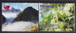 Paraguay: 20e Anniversaire De L'indépendance De La Slovaquie. Fleurs De Tilleul. YT 3111 - Paraguay
