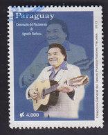 Paraguay:  Augustin Barboza Jouant De La Guitare. YT 3148 - Paraguay