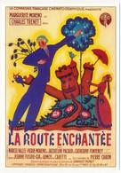 """CPM - Affiche Du Film """"La Route Enchantée"""" - Marguerite Moreno, Charles Trenet - Affiches Sur Carte"""