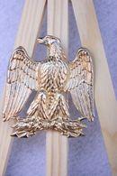 Aigle Impérial - Hauteur : 6 Cm - Largeur : 5 Cm ( Doré) - Insignes & Rubans