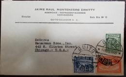 O) 1945 ECUADOR, MT CHIMBORAZO SC 407B 30c, PEONS SCT RA55-THE TAX WAS FOR FARM WORKERS, COMMUNICATION SYMBLOS SCT RA49A - Ecuador