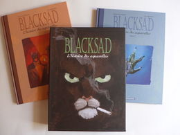 Diaz Canales & Guarnido - Blacksad. L'histoire Des Aquarelles 1 & 2  EO - Blacksad