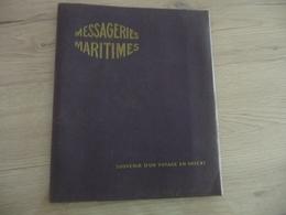 Porte Folio 13 Vue Messageries Maritimes Souvenir En Orient 20.5 X 24.5 Paquebot Mariette Pacha Grèce Turquie ... - Bateaux