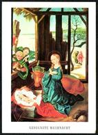 B9791 - Glückwunschkarte Weihnachten - Weihnachtskrippe Krippe - Dennoch Schricker - Noël