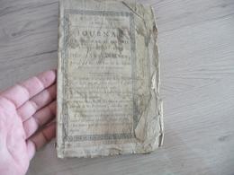 Journal D'Agriculture Et Des Arts Des Hautes Alpes N°1 1er Mars 1812 En L'état Voir Photos - Kranten