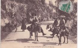 20 Corse - ALATA - Environs D'Ajaccio - Types Corses - Cavaliers - Ânes - France
