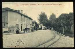 01 ST TRIVIER DE COURTES Place Du Haut 1910 (34) - Frankrijk