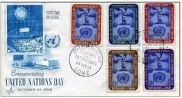 TOGO - 1959 BUSTA FDC ONU - Togo (1960-...)
