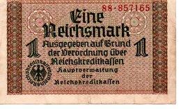 EINE REICHSMARK - [ 4] 1933-1945 : Troisième Reich
