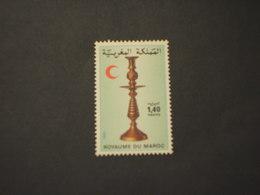 MAROCCO - 1982  CROCE ROSSA/CANDELABRO - NUOVO(++) - Marocco (1956-...)