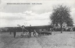 Carte Postale - MONDOUBLEAU - AVIATION (41) - Prêt à Partir - Avion - An 1910 - - France