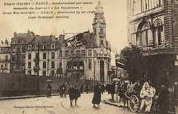 """Militaria Guerre De 1914 1918 NANCY  Bombardement Par Avions Immeuble Du Journal L'""""Est Rebublicain"""" RV - Nancy"""