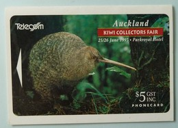 New Zealand - GPT - Auckland Kiwi Collector's Fair 1993 - Parkroyal Hotel - $5 - Mint In Folder - New Zealand