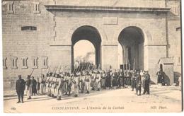 POSTAL   CONSTANTINE  -ARGELIA  - L'ENTRÉE DE LA CASBAH - Argelia