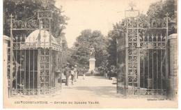 POSTAL   CONSTANTINE  -ARGELIA  - ENTRÉE DU SQUARE VALÉE - Argelia