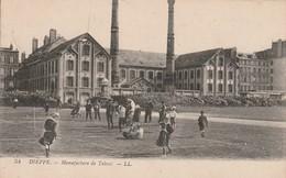 76 -Très Belle Carte Postale Ancienne De  DIEPPE   Manufacture De Tabacs - Dieppe