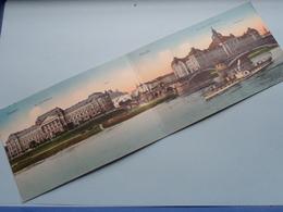 DRESDEN ( Carl Döge / Doppelseitige Karte + Mit Extra Photo Fur Detail ) Anno 1913 > Anvers ( See/voir Photo ) ! - Dresden