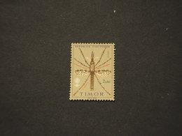 TIMOR -. 1962 MALARIA/INSETTO  - NUOVO(++) - Timor Orientale