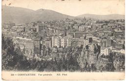 POSTAL   CONSTANTINE  -ARGELIA  - VUE GÉNÉRALE - Argelia