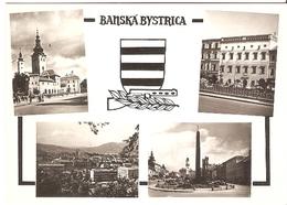 09/FG/18 - SLOVACCHIA - BANSKA' BYSTRICA: Vedutine - Slovacchia