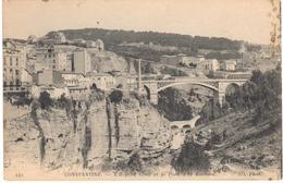 POSTAL   CONSTANTINE  -ARGELIA  - L'HÔPITAL CIVIL ET LE PONT D'EL KANTARA - Argelia