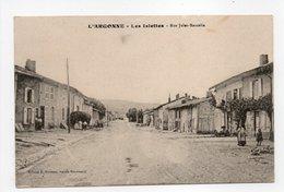 - CPA LES ISLETTES (55) - Rue Jules-Bancelin 1915 - Edition E. Moissou - - France