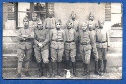 Carte Photo  - Groupe De Soldats Français - War 1939-45