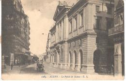 POSTAL   ALGER  -ARGELIA  - LE PALAIS DE JUSTICE - Otros