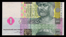 UKRAINE 1 HRYVNIA 2004 TIGIPKO CUT ERROR Pick 116a Unc - Oekraïne