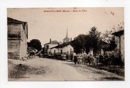 - CPA BRAUVILLIERS (55) - Ecole De Filles 1917 (avec Personnages) - Edition Fourchère-Guillemin - - Andere Gemeenten