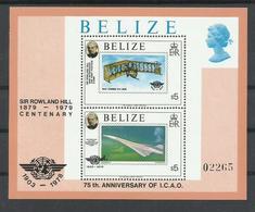 BELIZE  HOJA BLOQUE AEREA  MNH  ** - Belice (1973-...)