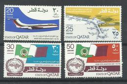 QATAR YVERT 260A/D    MNH  ** - Qatar