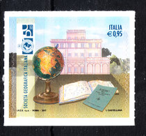 Italia   -   2017. Società Geografica; Globo Terrestre. Geographic Society; Terrestrial Globe. MNH - Geografia