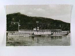 Dampfer Elberfeld, Köln-Düsseldorfer Rheindampfschiffahrt, AK, Gelaufen 1960 - Schiffe