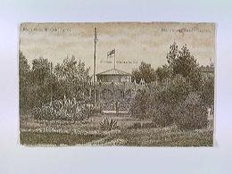 Bialystok, Mieski Ogrod, Stadt-Garten, Restauration, Polen, AK, Feldpost 1915, Eisenbahn-Maschinenamt - Ansichtskarten